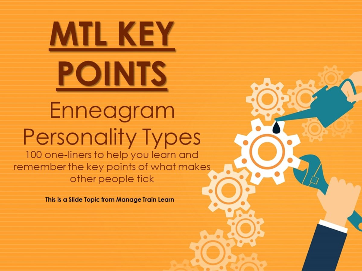 100 Key Points: Enneagram Personality Types - Slide 1++