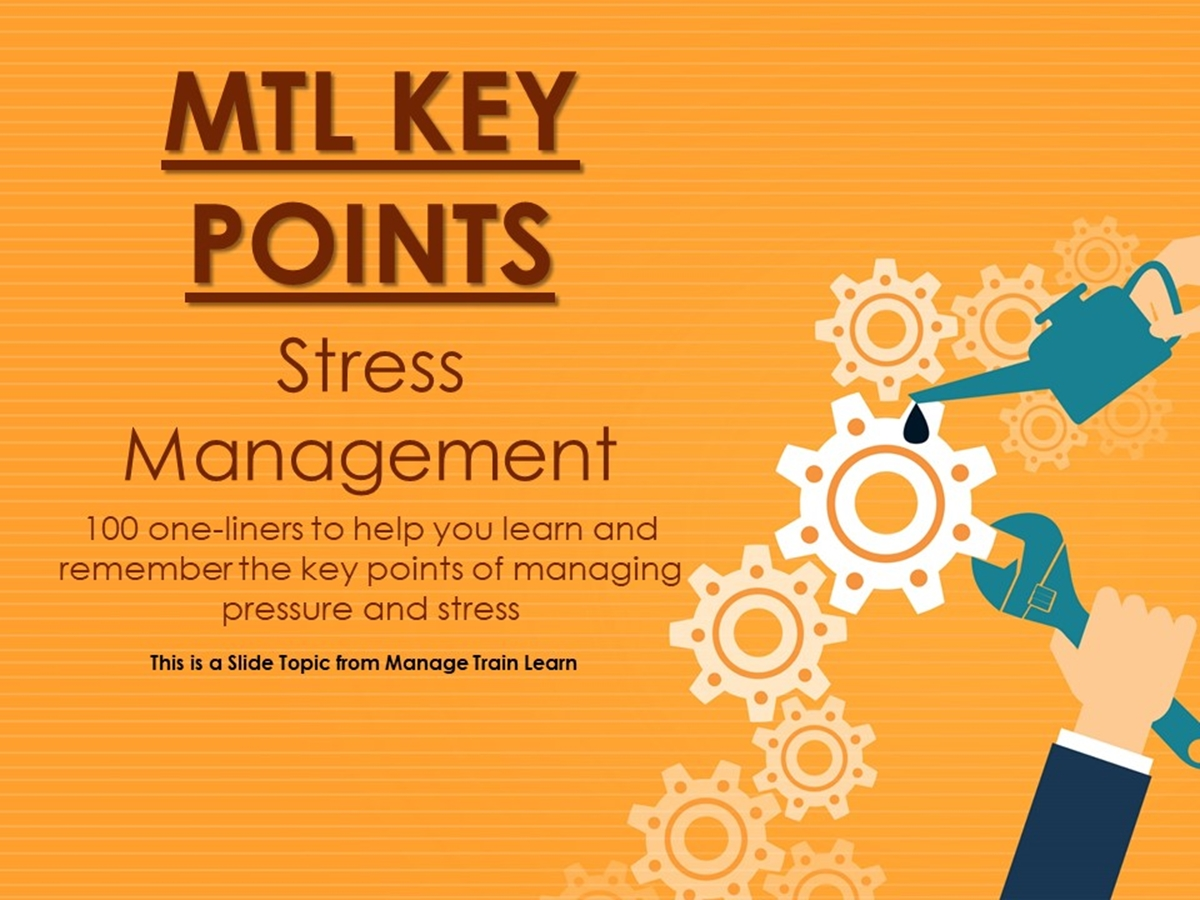 The 100 Key Points Series: Stress Management - Slide 1++