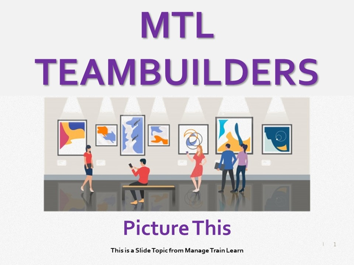 Teambuilders: 10. Picture This - Slide 1++