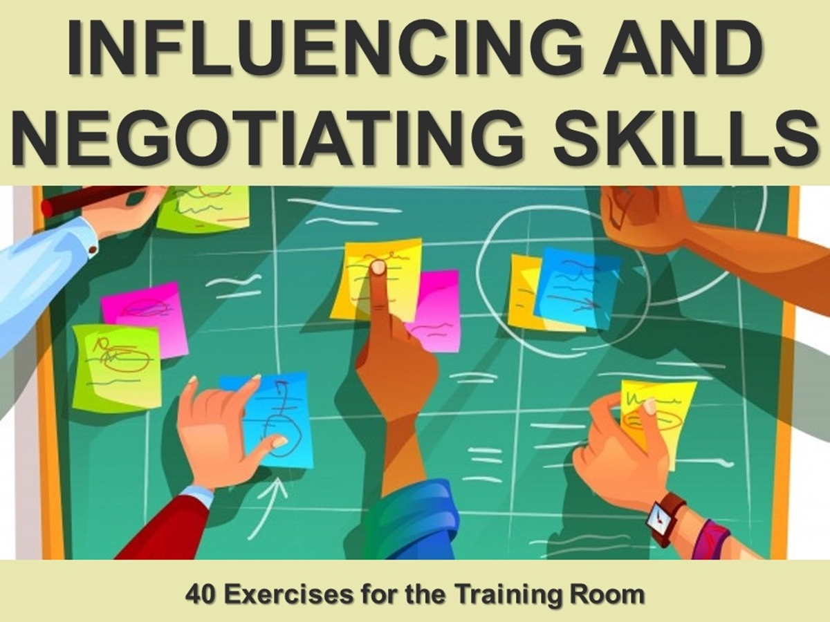 Group Exercises: Influencing and Negotiating Skills - Slide 1++