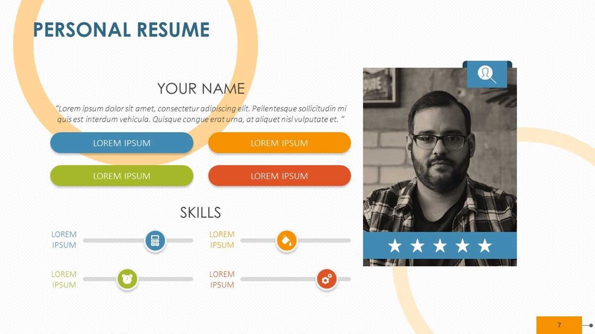 personal resume in the gig economy