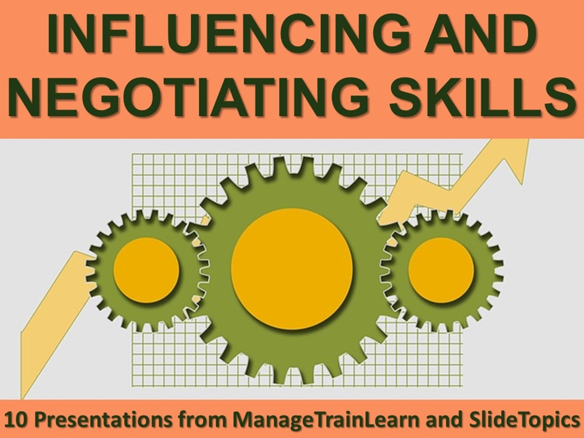10 Course Presentations: Influencing and Negotiating Skills - Slide 1++