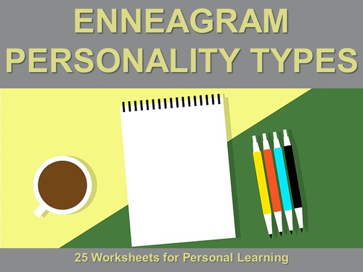 The 25 Worksheets Series: Enneagram Personality Types - Slide 1++