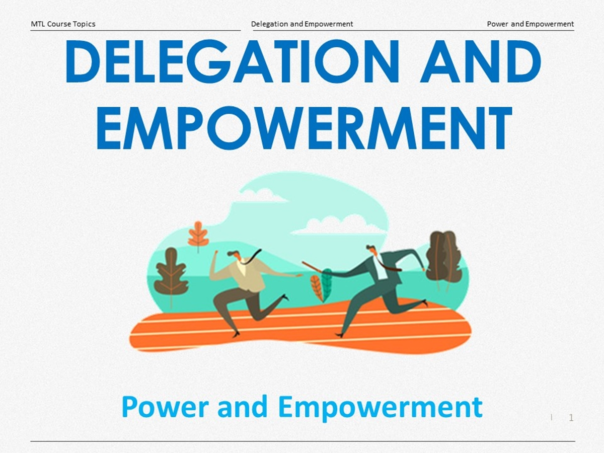 Course Topics: Power and Empowerment - Slide 1++