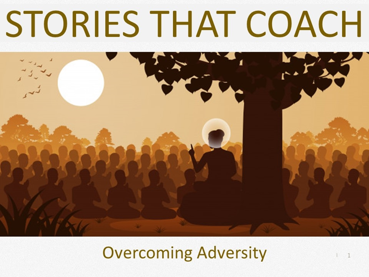 Stories that Coach: Overcoming Adversity - Slide 1++