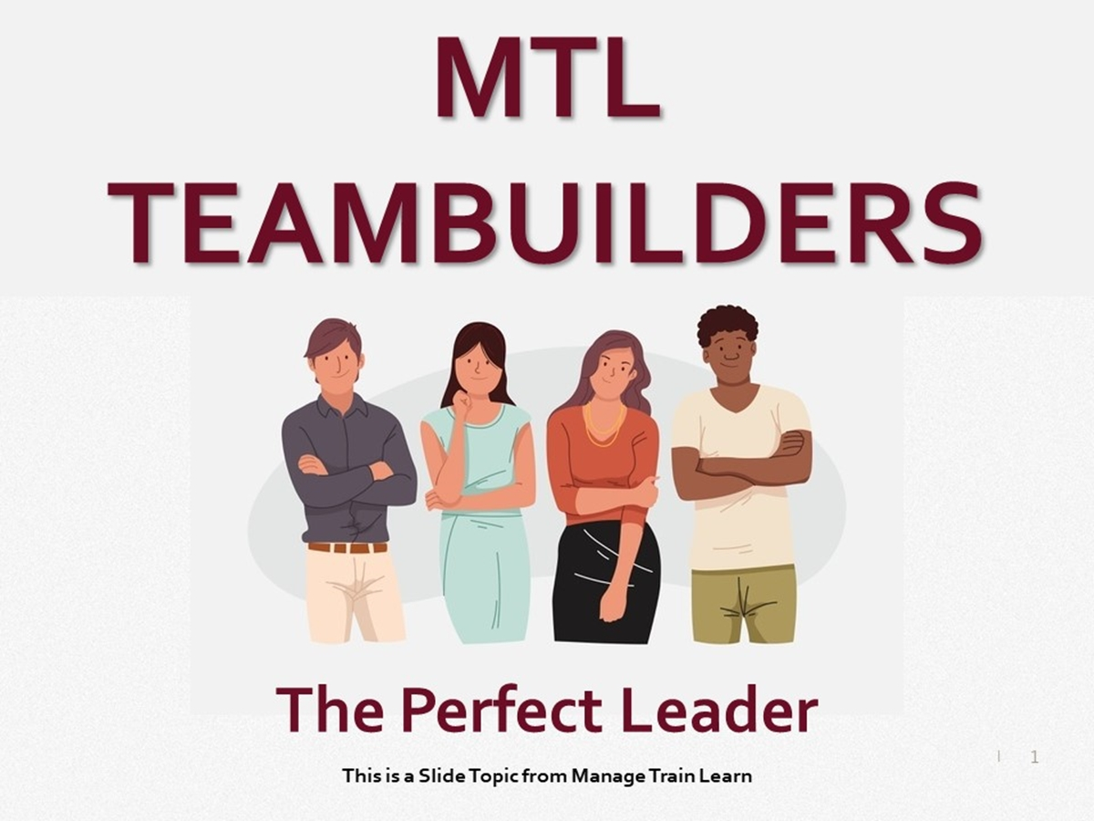 Teambuilders: 15. The Perfect Leader - Slide 1++