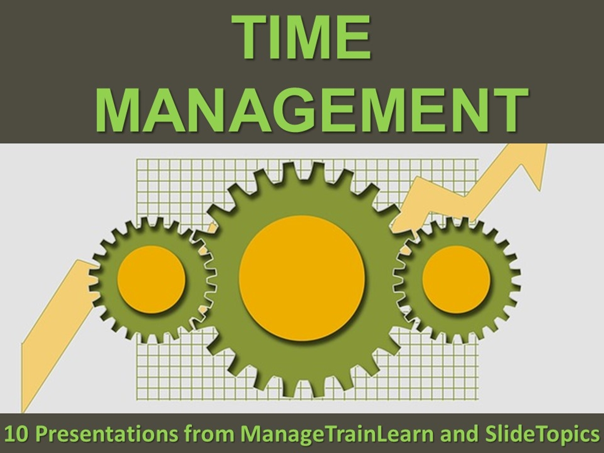 The 10 Course Presentations Series: Time Management - Slide 1++