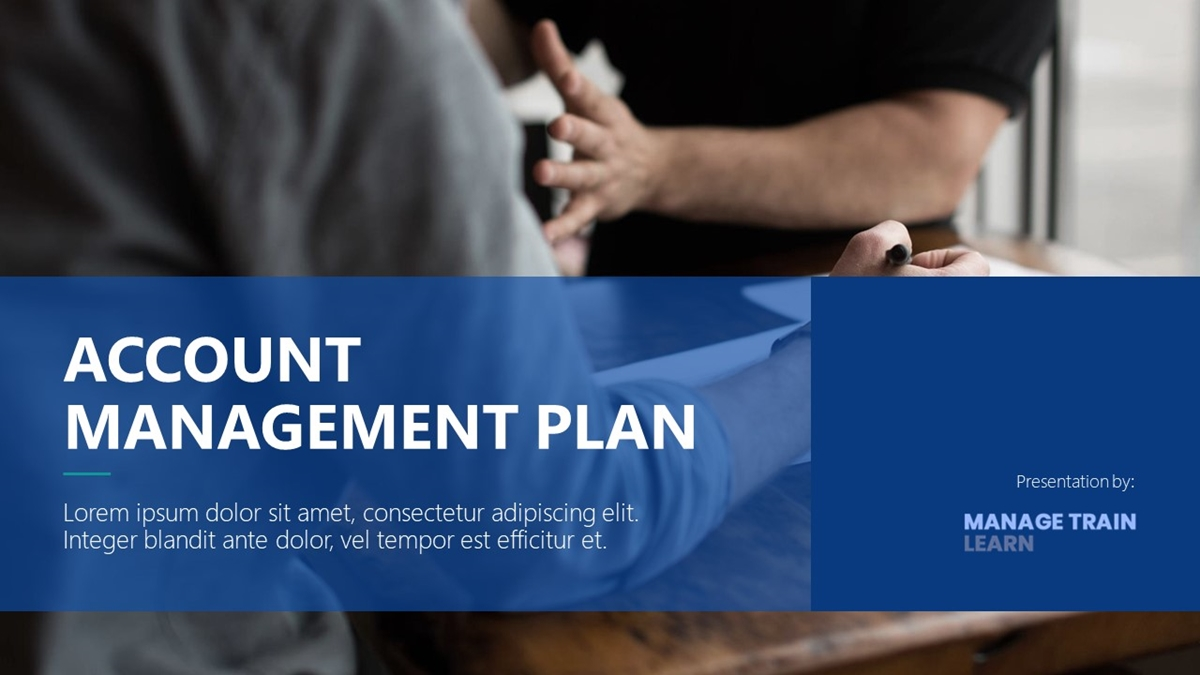 Account Management Plan - Slide 1++