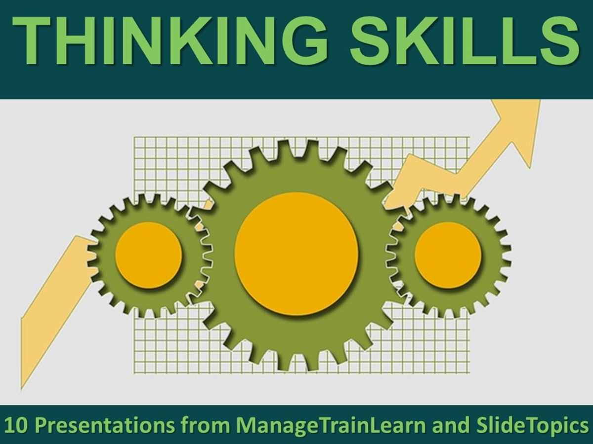 The 10 Course Presentations Series: Thinking Skills - Slide 1++