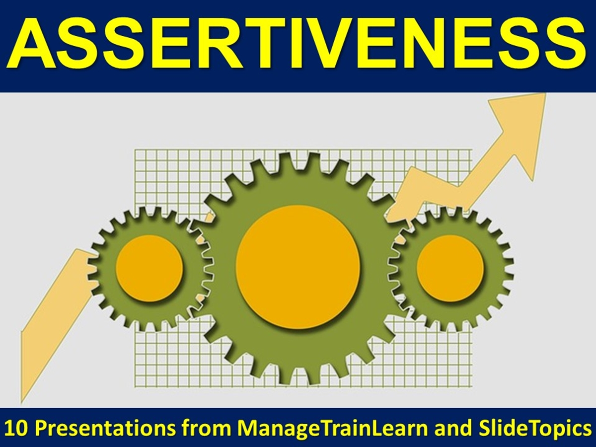 The 10 Course Presentations Series: Assertiveness - Slide 1++